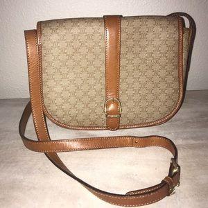 Authentic Celine vintage crossbody messenger bag